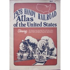 1928 Handy Railroad Atlas of the United States (Rand McNally)