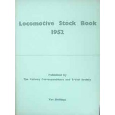 Locomotive Stock Book 1952 (RCTS)
