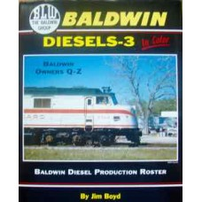 Baldwin Diesels -3 In Color. Baldwin Owners Q-Z (Boyd)