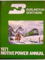 Burlington Northern 1971 Motive Power Annual (Wagner)