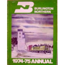 Burlington Northern 1974-75 Annual (Wagner)