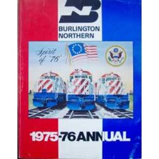 Burlington Northern 1975-76 Annual (Wagner)