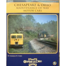 Chesapeake & Ohio Maintenance-Of-Way Motor Cars (Ford)  (HS11)