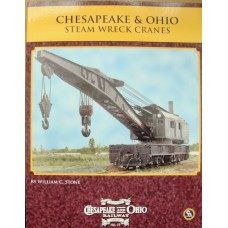Chesapeake & Ohio Steam Wrecking Cranes (Stone) (HS19)