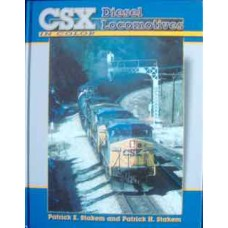 CSX Diesel Locomotives In Color (Stakem)