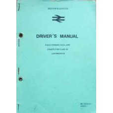 Driver's Manual Fault Finding Data And Charts For Class 50 Locomotives (British Railways)