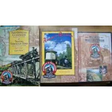The Official Guidebook: America's Railroad & Tracks Through Time DVD Gift Pack