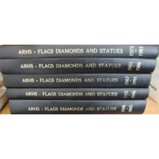 Flags, Diamonds and Statues. 5 Volumes 1975-2005 (Anthracite Railroads Historical Society)