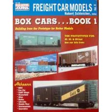 Freight Car Models Box Cars... Book 1 (Schleicher)