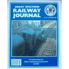 Great Western Railway Journal No. 72 Autumn 2009 (Wild Swan)