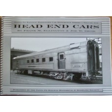 Santa Fe Railway Passenger Car Reference Series Vol 1: Head End Cars (Ellington)