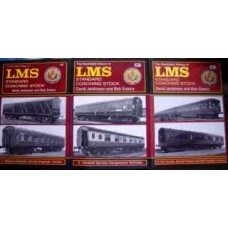 The Illustrated History of LMS Standard Coaching Stock. Volumes 1, 2 & 3 (Jenkinson)