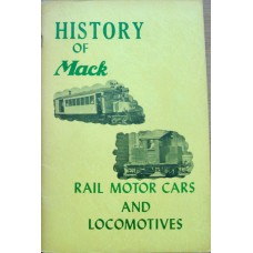 History of Mack Rail Motor Cars and Locomotives (Kulp)
