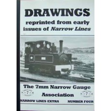 Drawings reprinted from early issues of Narrow Lines Number Four
