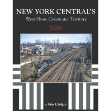New York Central's West Shore Commuter Territory In Color (Zullig)