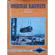 Overseas Railways 1953. A Railway Gazette Publication