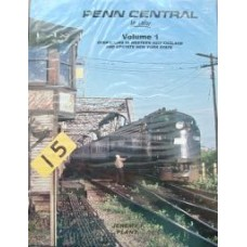 Penn Central In Color Volume 1: Operations in Western New England and Upstate New York State (Plant)