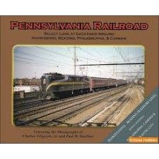 Pennsylvania Railroad. Select Look At Locations Around Harrisburg, Reading, Philadelphia & Camden (Yrigoyen)