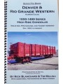 Denver & Rio Grande Western Narrow Gauge 1000-1499 Series High Side Gondolas (Blanchard)