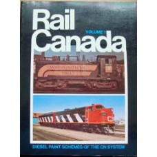 Rail Canada Volume 1. Diesel Paint Schemes of the CN System (Lewis)