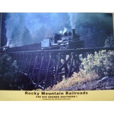 Rocky Mountain Railroads. The Rio Grande Southern I (Dorman)