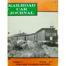 Railroad Car Journal #3 Open And Covered Hoppers Spring 1972