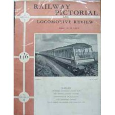 Railway Pictorial And Locomotive Review Volume 3 No 14 Sept 1950 (Lake)