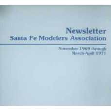 Santa Fe Modelers Association Newsletter November 1969-March/April 1971