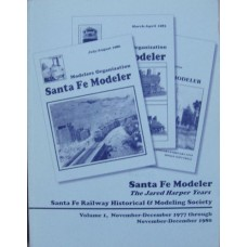 Santa Fe Modeler The Jared Harper Years Vols 1, 2 and 3 1977-1986