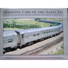 Santa Fe Railway Passenger Car Reference Series Vol.5. Sleeping Cars of the Santa Fe (Flick)