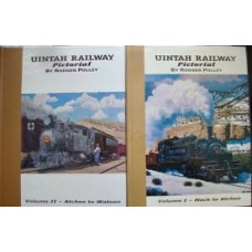 Uintah Railway Pictorial Volumes 1 and 2 (Polley)
