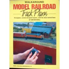 Walkaround Model Railroad Track Plans (Mitchell)