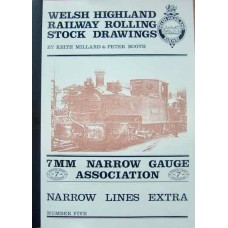 Welsh Highland Railway Rolling Stock Drawings (Millard)