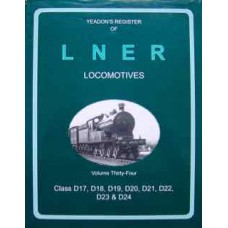 Yeadon's Register of LNER Locomotives Vol. 34 (Yeadon)