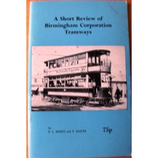 A Short Review of Birmingham Corporation Tramways (Hardy)