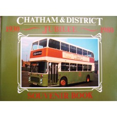 Chatham and District Jubilee Souvenir 1930-1980 (John)
