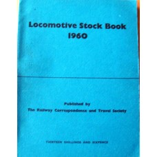 Locomotive Stock Book 1960 (RCTS)