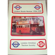 London Route Review 1934-1939