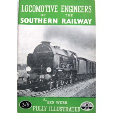 Locomotive Engineers of the Southern Railway (Webb)