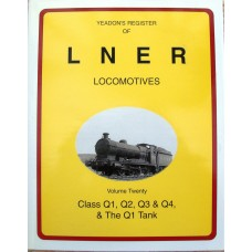 Yeadon's Register of LNER Locomotives Vol. 20 (Yeadon)