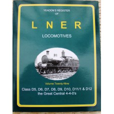 Yeadon's Register of LNER Locomotives Vol. 29 (Yeadon)