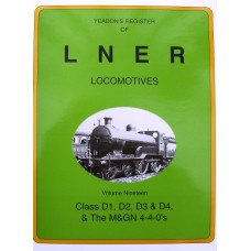 Yeadon's Register of LNER Locomotives Vol. 19 (Yeadon)