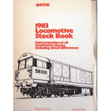 1983 Locomotive Stock Book (RCTS)