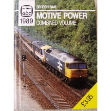 British Rail - Motive Power Combined Volume 1989 (Wood)