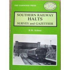Southern Railway Halts Survey and Gazetteer (Kidner)