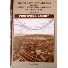 Track Layout Diagrams Of The Great Western Railway and BR (WR) Section 46B Pontypridd-Cardiff (Cooke)