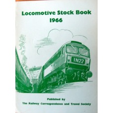 Locomotive Stock Book 1966 (RCTS)