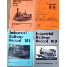 The Industrial Railway Record.  Issues 20 to 183.