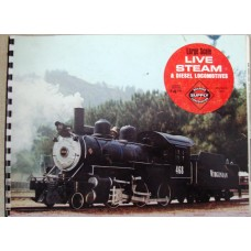 Large Scale Live Steam and Diesel Locomotives (Railroad Supply Corporation Burbank Calfornia)