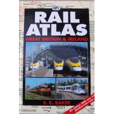 Rail Atlas Great Britain and Ireland (Baker)